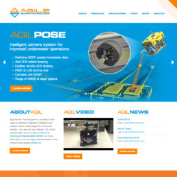 Agile Sensor Technologies Website Design and Development - Home