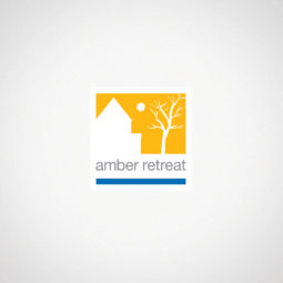 Amber Retreat Logo Design