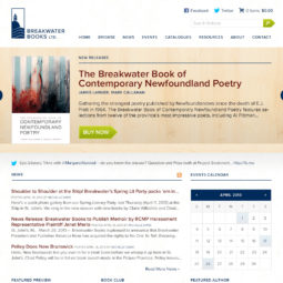 Breakwater Books Website Design and Development - Home