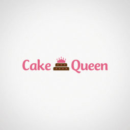 Cake Queen Logo Design