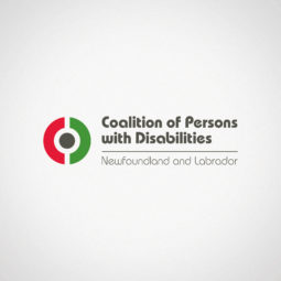 Coalition of Persons with Disabilities Newfoundland and Labrador Logo Design