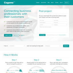 Cogomo Website Design and Development - Home