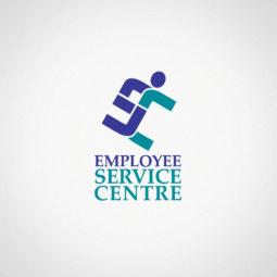 Employee Service Centre Logo Design