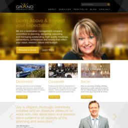 Grand Productions Website Design and Development - Home