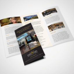 Grand Productions Brochure Design