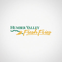 Humber Valley Fresh Fries Logo Design