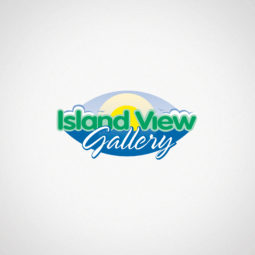 Island View Gallery Logo Design