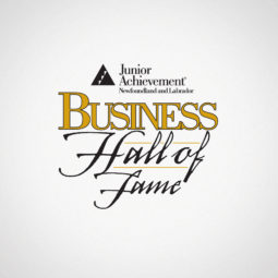 Junior Achievement Business Hall of Fame Logo Design