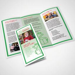 Kids Eat Smart Brochure Design