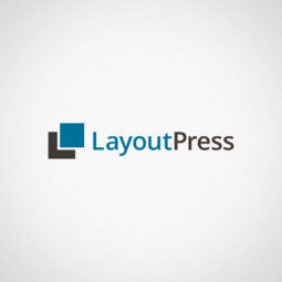 LayoutPress Logo Design