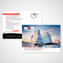 Maxxim Vacations Mailout Design