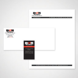 Maxxim Vacations Stationery Design