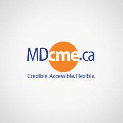MDcme.ca Logo Design