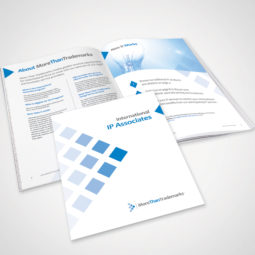 MoreThanTrademarks International IP Associates Brochure Design