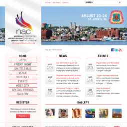 National Apprenticeship Competition Website Design and Development - Home