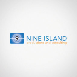 Nine Island Productions and Consulting Logo Design