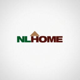 NLHOME Logo Design