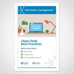 Newfoundland and Labrador Hydro Information Management Poster 1 Design