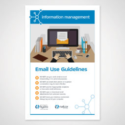 Newfoundland and Labrador Hydro Information Management Poster 2 Design