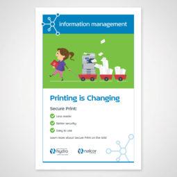 Newfoundland and Labrador Hydro Information Management Poster 3 Design