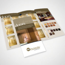Nuway Kitchens Doors Brochure Design