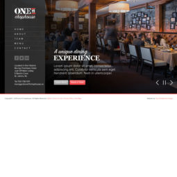 One11 Chophouse Website Design and Development - Home