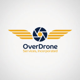 OverDrone Services, Incorporated Logo Design