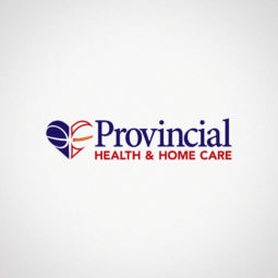 Provincial Health & Home Care Logo Design