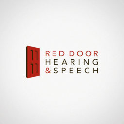 Red Door Hearing & Speech Logo Design