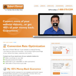 Robert Manuel Website Design and Development - Home