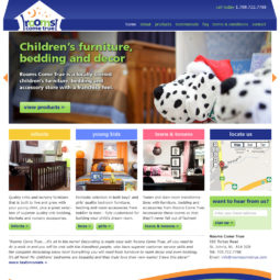 Rooms Come True Website Design - Home