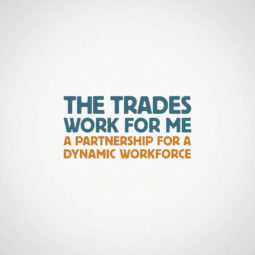 The Trades Work for Me Logo Design
