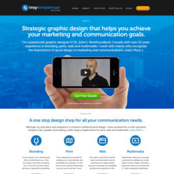 Troy Templeman Design Website Design and Development 2 - Home