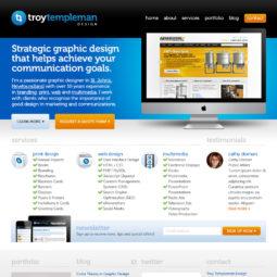 Troy Templeman Design Website Design and Development - Home
