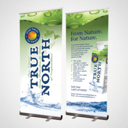 True North Pop Up Banners Design