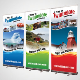 Twillingate Tourism Pop Up Banners