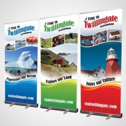 Twillingate Tourism Pop Up Banners