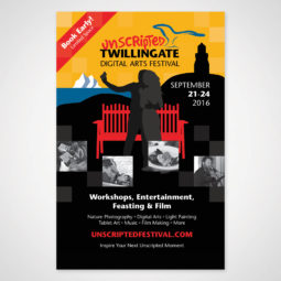 Unscripted Twillingate Poster Design